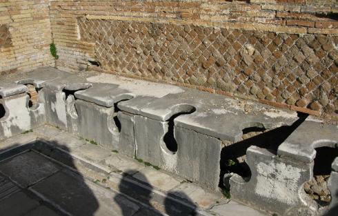 Ostia antica imparando l 39 italiano - Il bagno teatro ...